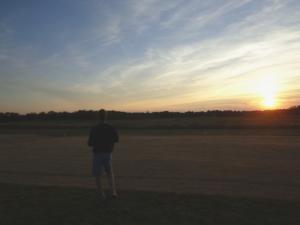 PresShow - Sunset Flying
