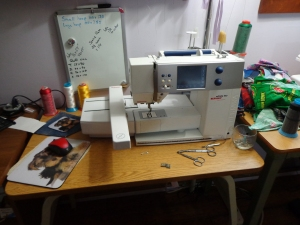 Babe's Embroidery Machine