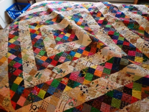 Babe's Quilt made with Treadel