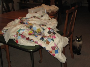 Babe's Quilting Table