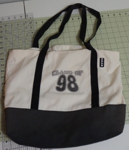 Bag Sewn in Eighth Grade