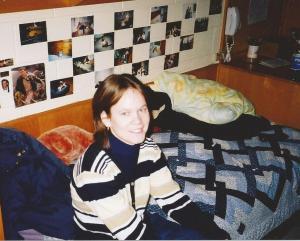 Kerry's Dorm Bed