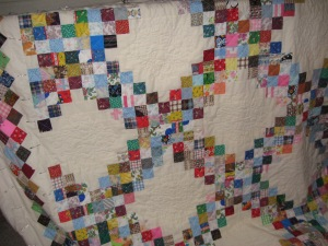 Scrappy Irish Chain Quilt
