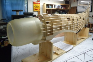 Ziroli A-1 Fuselage Stringing with Cowl
