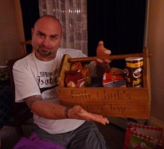 Chuk and his toolbox