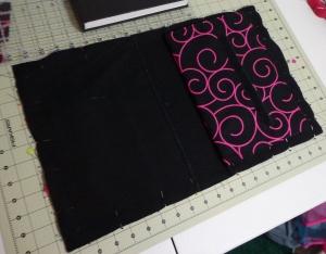 Sketchbag Inner Pieces Pinned