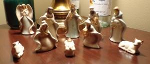 Victorian Nativity Scene - 2015