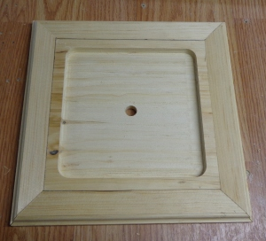 Trivet Unfinished Frame