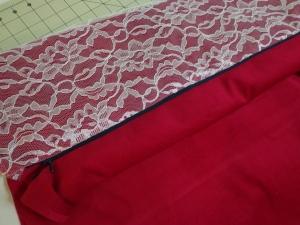 Karen's Pillow - Zipper Sewn to Both Sides