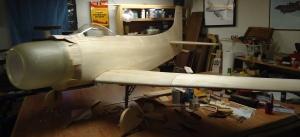 Ziroli A-1 Nose Scoop Installed