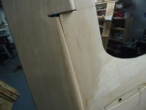 Ziroli A-1 Rudder Gap 2-13-16