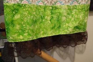 2nd Group Dress 10 - Hem Lace
