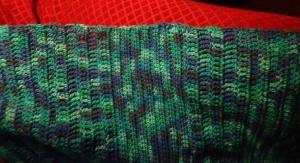 Bob's Crocheted Blanket - Edge