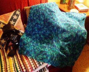 Bob's Crocheted Blanket