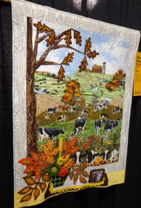 Sewing Expo - Cows Quilt - 4-2-16
