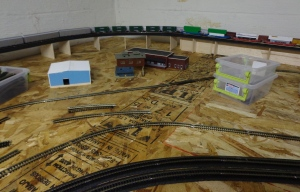Train Layout - Back Rise 5-23-16