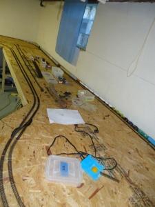 Train Layout - Bench 1 4-14-16