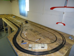 Train Layout - Farm Area - 5-7-16