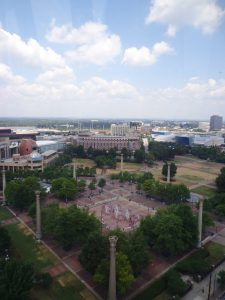Centennial Park from the Ferris Wheel - 5-26-16