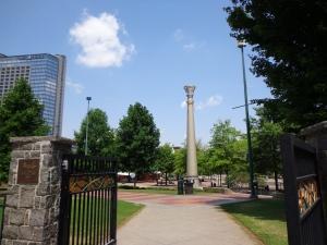 Centennial Park Gates - 5-26-16