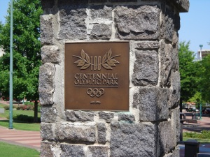 Centennial Park Sign - 5-26-16