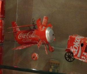 Coke Can Plane