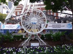 Ferris Wheel Flower Planter - 5-26-16