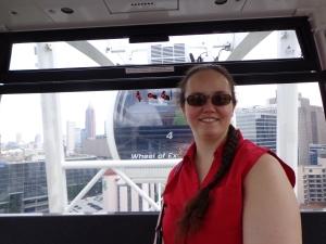 Kerry on the Ferris Wheel - 5-26-16