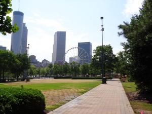 Looking Across Centennial Park - 5-26-16