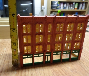 N Scale Structure - Hotel Height