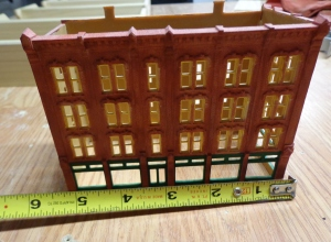 N Scale Structure - Hotel Width