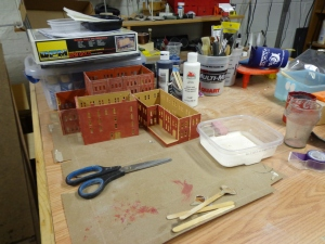 N Scale Structures - In Progress - 6-28-16
