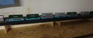N Scale Train - Intermodal Cars
