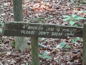 Animal Park - Broken Limb Sign - 5-27-16