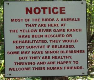 Animal Park - Disclosure Sign - 5-27-16