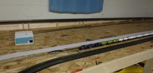 Train Layout - Airstrip - 7-7-16