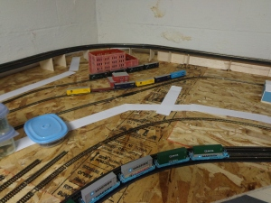 Train Layout - Industry - 7-7-16