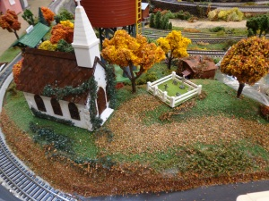 Train Show - HO Scale Church - 7-16-16