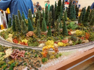Train Show - HO Scale Wilderness - 7-16-16