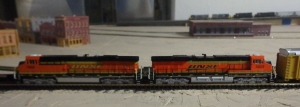 Train Show - N Scale BNSF Engines - 7-16-16
