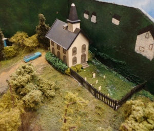 Train Show -N Scale Church - 7-16-16