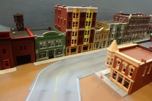 Train Show - N Scale City Buildings 2 - 7-16-16