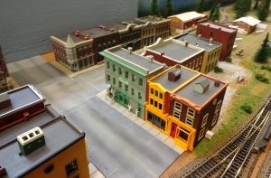 Train Show - N Scale City Display 3 - 7-16-16