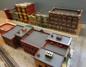 Train Show - N Scale Hotel Building 2 - 7-16-16