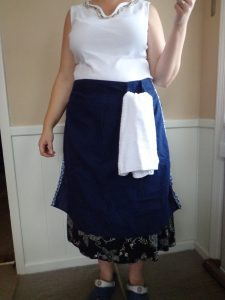 Apron with Towel Ring - 7-28-16