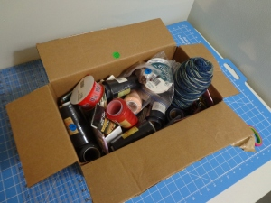 Box of Sewing Stuff 7-29-16