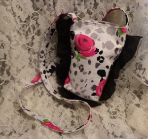 Pink Roses Girl Purse - 7-28-16