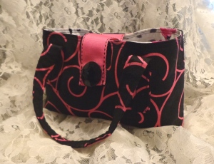 Pink Swirls Girl Purse - 7-28-16