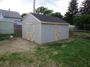Shed - Assembled - 8-21-16