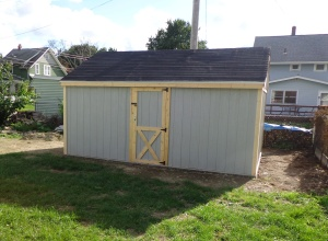 Shed - Painted - 8-21-16